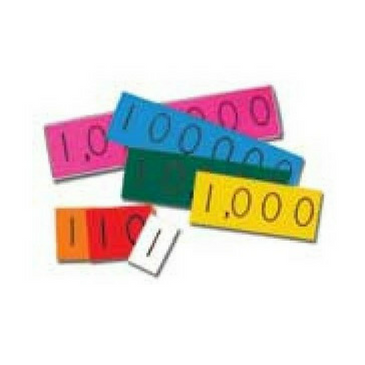 Place Value 7 Digit Strips (DEMO set)