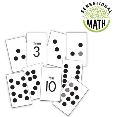 Sensational Math Subitizing Activity Cards