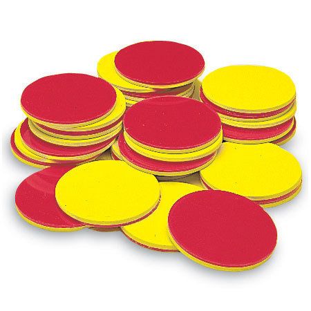 Foam 2-Color Counters (200)