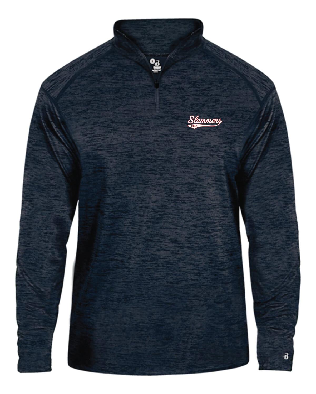 Tonal Blend Quarter-Zip Pullover