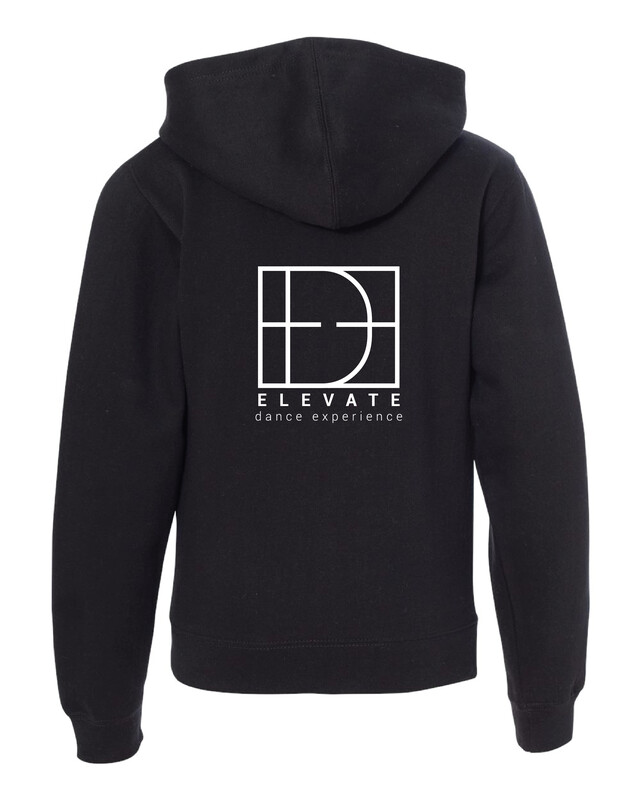 Youth Midweight Full-Zip Hooded Sweatshirt