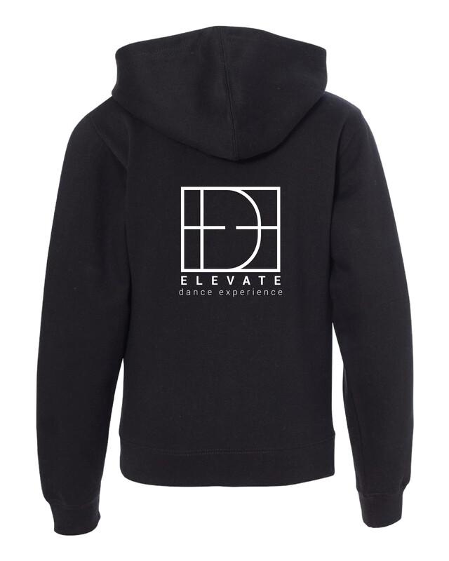 Adult Midweight Full-Zip Hooded Sweatshirt