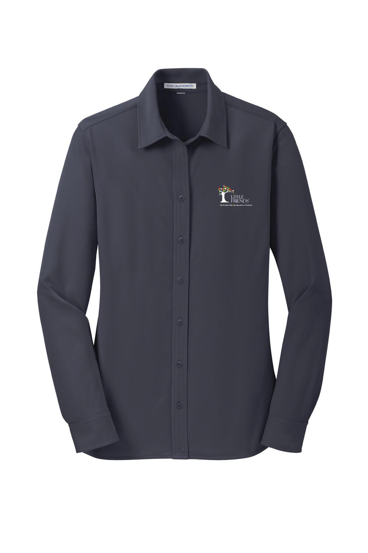 Port Authority® Ladies Dimension Knit Dress Shirt