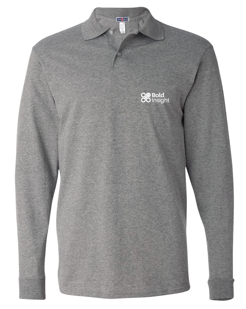 JERZEES - SpotShield™ 50/50 Long Sleeve Sport Shirt