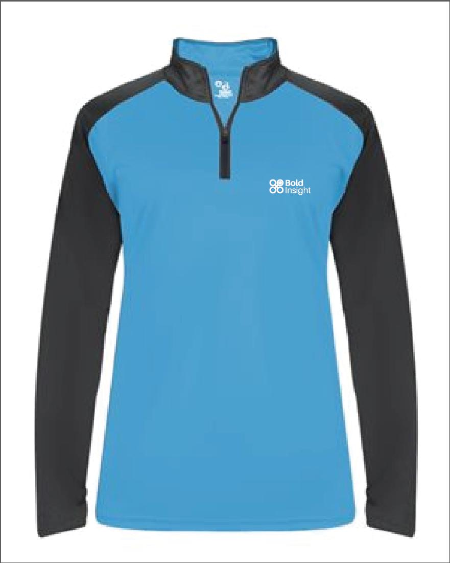 Badger - Ultimate SoftLock™ Women's Sport Quarter-Zip Pullover