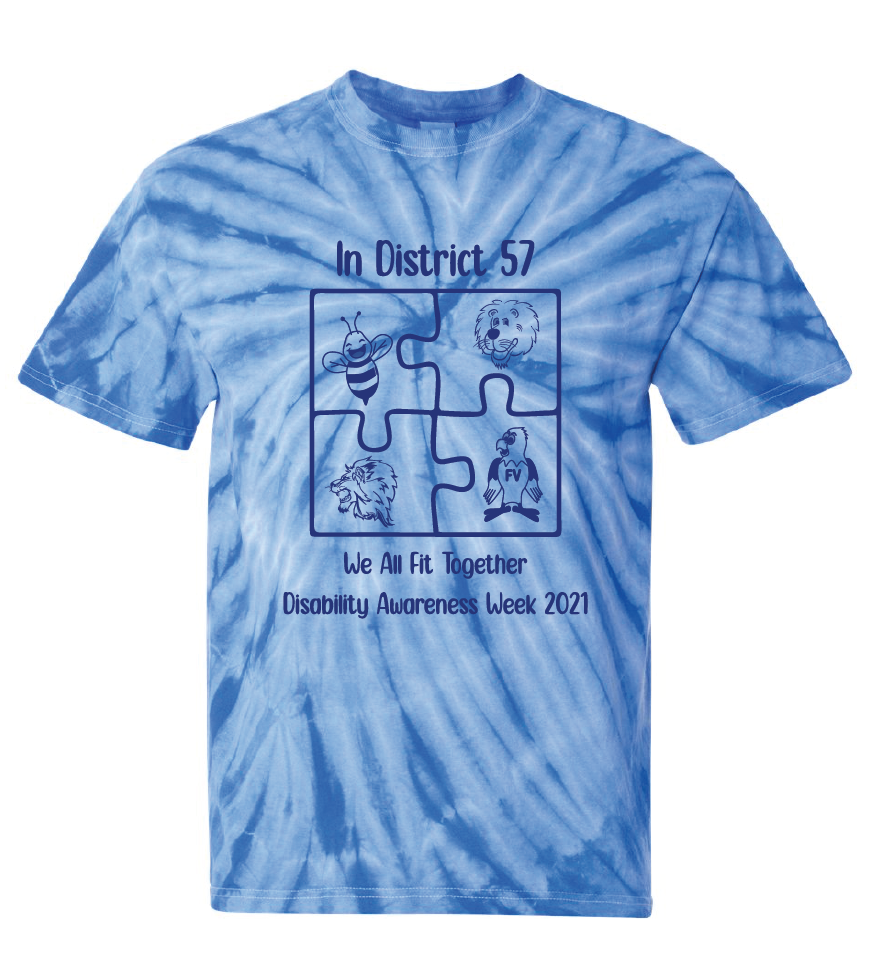 Adult Cyclone Pinwheel Tie-Dyed T-Shirt