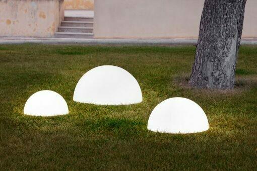 Lampada Mezza Sfera luminosa Baby Moon 67/77/107/147  cm