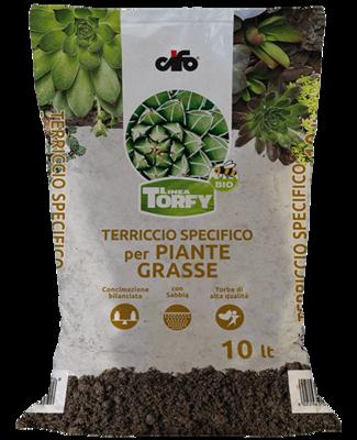 CIFO TERRICCIO SPECIFICO PIANTE GRASSE E CACTUS 10 lT