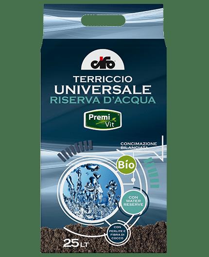 Terriccio BIO Riserva d'acqua 25 Lt Premivit premium Cifo