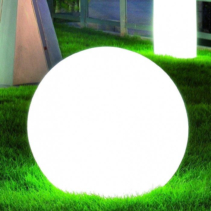 Lampada sfera luminosa Moon 110 cm