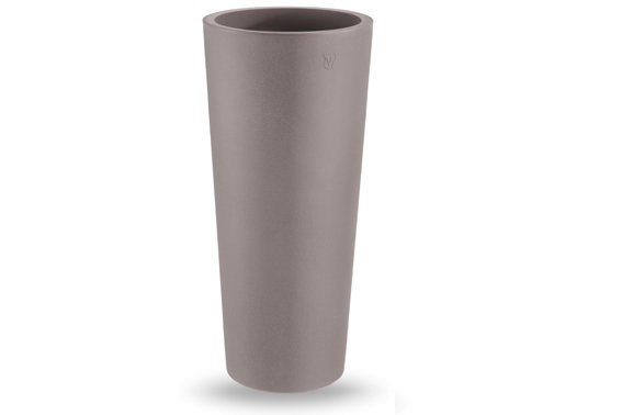 Tondo Zajsan liscio moderno Ø31 x h70 / Ø38 x h 85 cm in resina