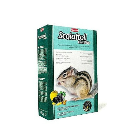 Mangime per scoiattoli Padovan Grandmix 12 confezioni da 750 gr (9 kg)