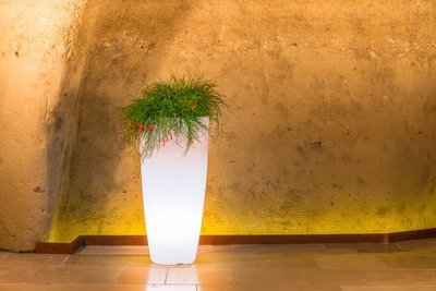 Vaso Tondo Stilo luce luminoso 40 x h 90 cm