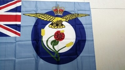 RAF Catering Sqn Flag 8x5 ft Can Be Used On Flag Pole
