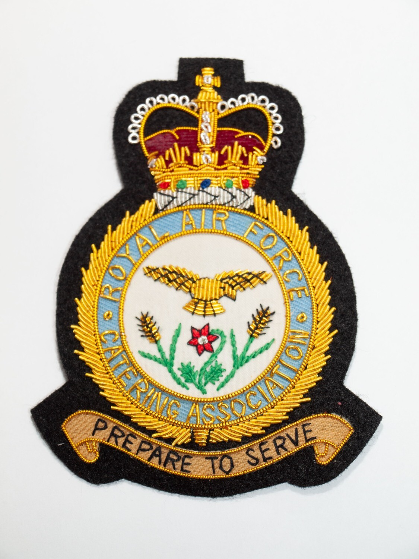 RAFCA Blazer Badge (New Crest) – Trade Group 19 (TG19) – Hand Embroidered Wired Silk