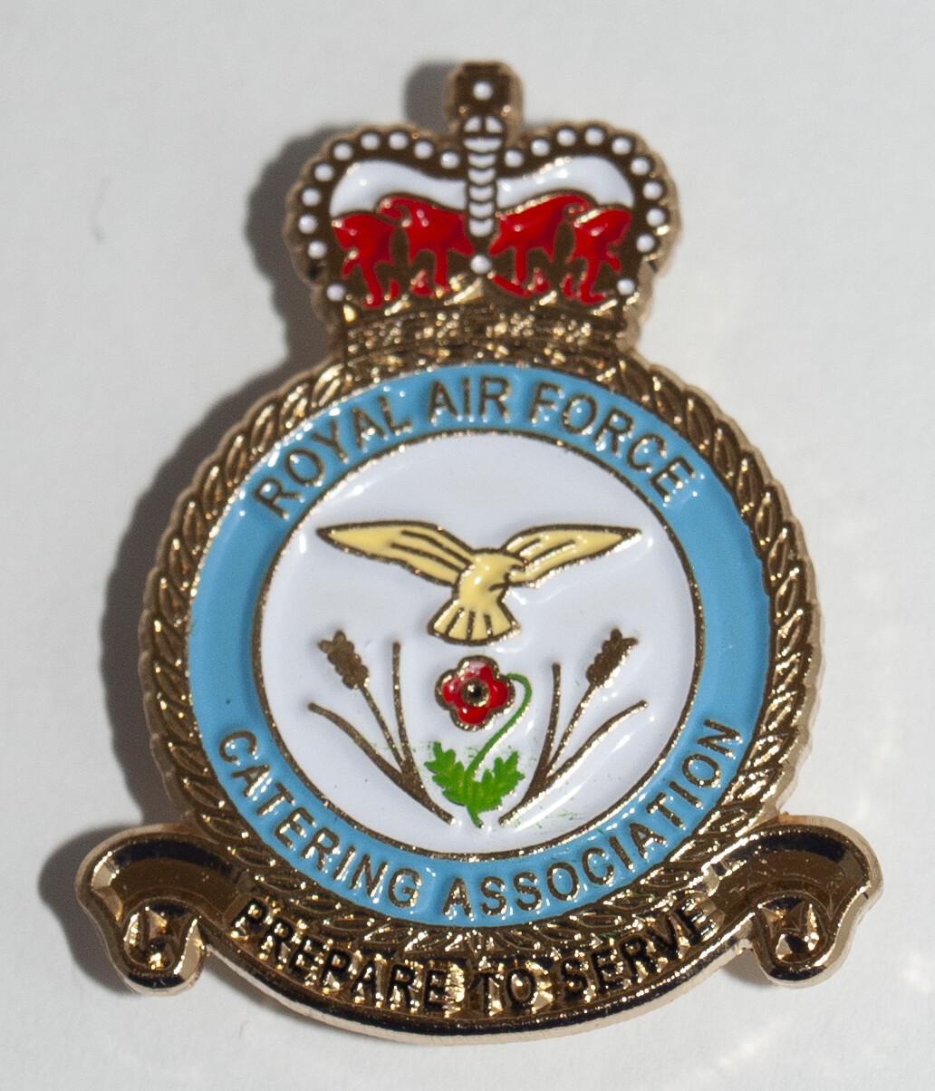 RAFCA Lapel Pin Badge Brand   Beautiful Military Enamel Pin Badge Veteran and Serving for members of Royal Air Force Catering Association    Lapel pin Remembrance Day