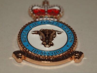 RAF Hereford Pin Badge