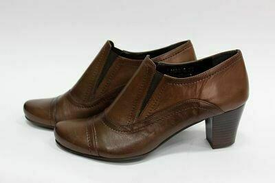 Braon ženske kožne cipele model 14532