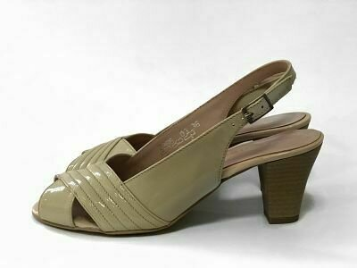Lakovane kožne sandale model 2986