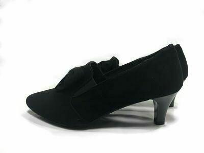 Crne kožne ženske cipele  model 10536