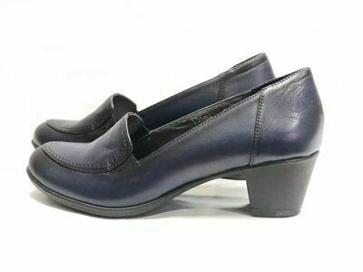 Teget kožne ženske cipele  model 10504