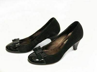 Crne kožne cipele  model 1291