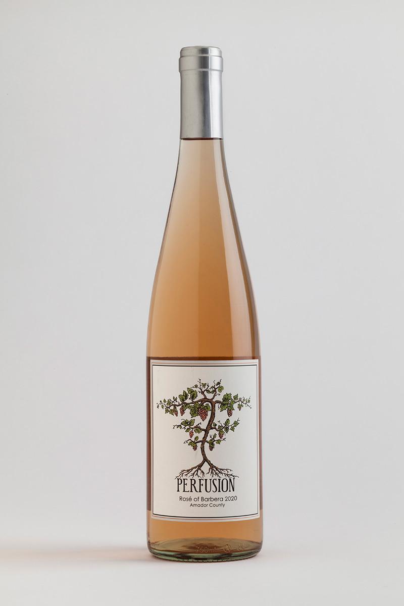 2020 Amador County Rosé of Barbera 00007