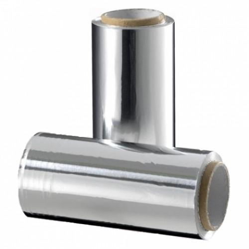 Фольга 16мкр серебро в индивидуальной упаковке (100 м)