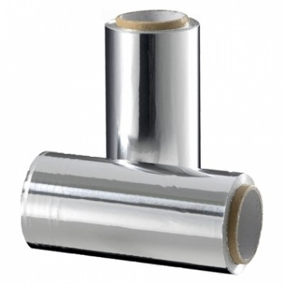 Фольга 16мкр серебро в индивидуальной упаковке (25 м)