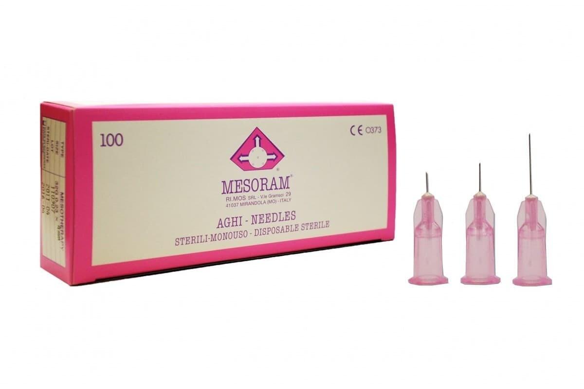 Игла для микроинъекций 32 G LUER (0,23 х 4мм) Mesoram,  10шт.