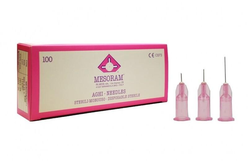 Игла для микроинъекций 32 G LUER (0,23 х 4мм) Mesoram