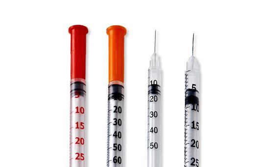 Шприц инсулиновый Vogt Medical U-100, 0,3 мл интегр. игла 30G (0,30 х 8 мм)