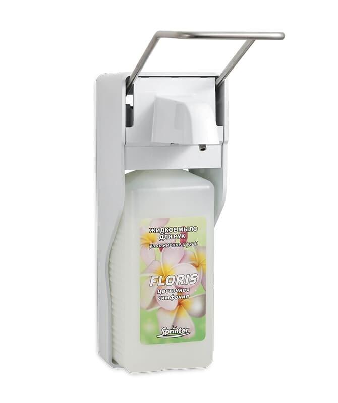 Дозатор для жидкого мыла настенный ДУ-010