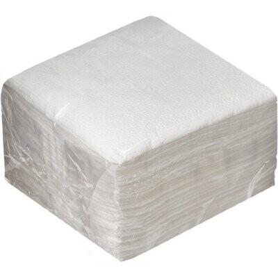 Салфетки бумажные 100л Белые