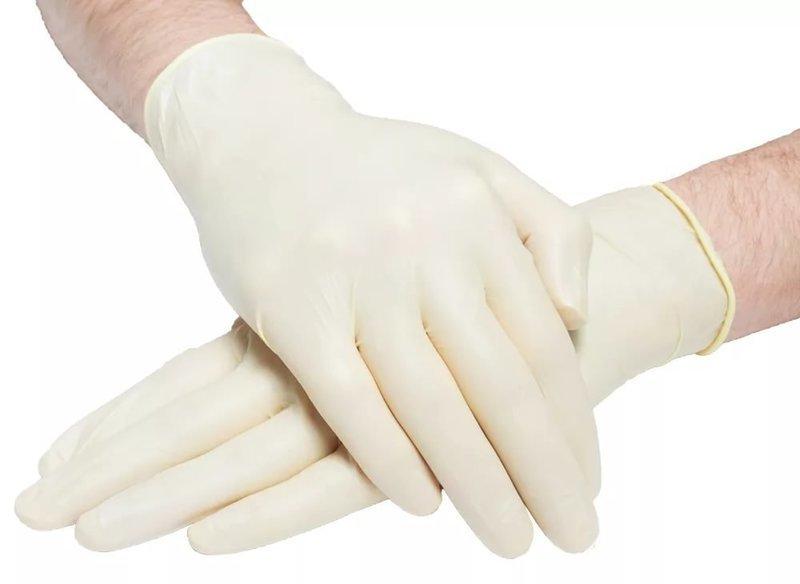 Латексные  перчатки неопудренные SITEKMED (100шт)