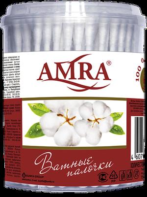 Ватные палочки AMRA  упаковка по 200 штук