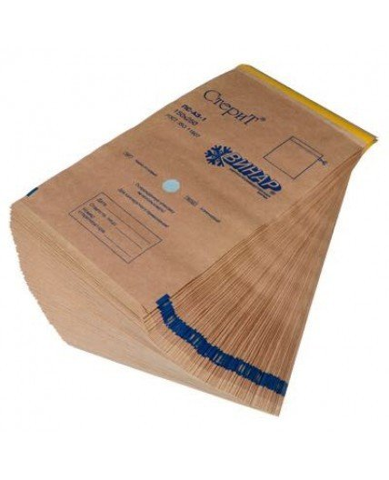"Пакет из крафт-бумаги самоклеющийся ""СтериТ®""  75х150 мм"