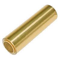 Фольга 16мкр золото в индивидуальной упаковке (25 м)
