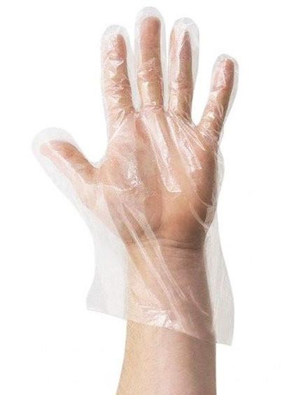 Полиэтиленовые перчатки (100 шт)