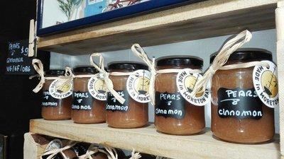 Organic Pears compote with vanilla & cinnamon