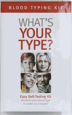 D'Adamo Blood Typing Kit