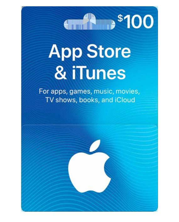 بطاقة ايتونز 100 دولار متجر أمريكي توصيل فوري