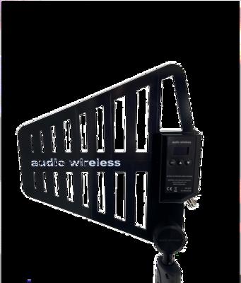 AW Semi-Broadband Active LPDA Antenna - LPDA-A-WB  470-1164MHz [in Bands]