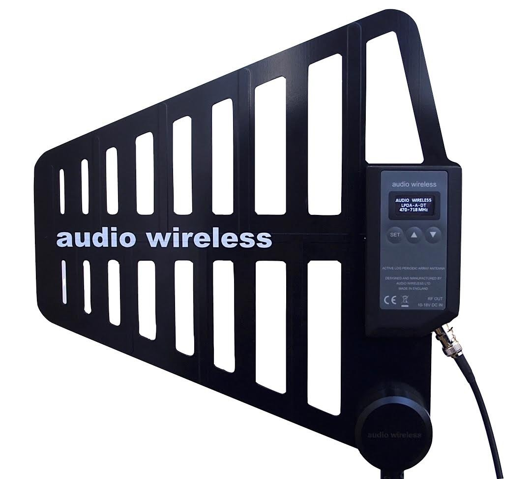 AW Digitally Tuned Active LPDA Antenna V2 [470-702MHz]