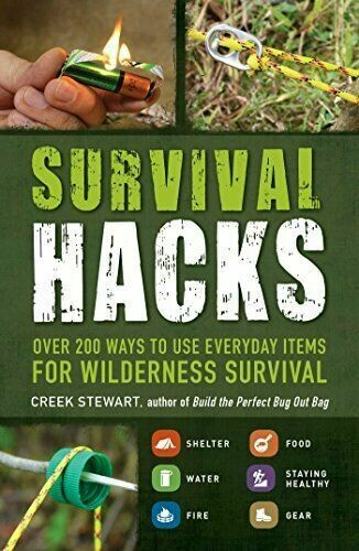 Survival Hacks: Over 200 Ways to Use Everyday Items for Wilderness Survival [Paperback]