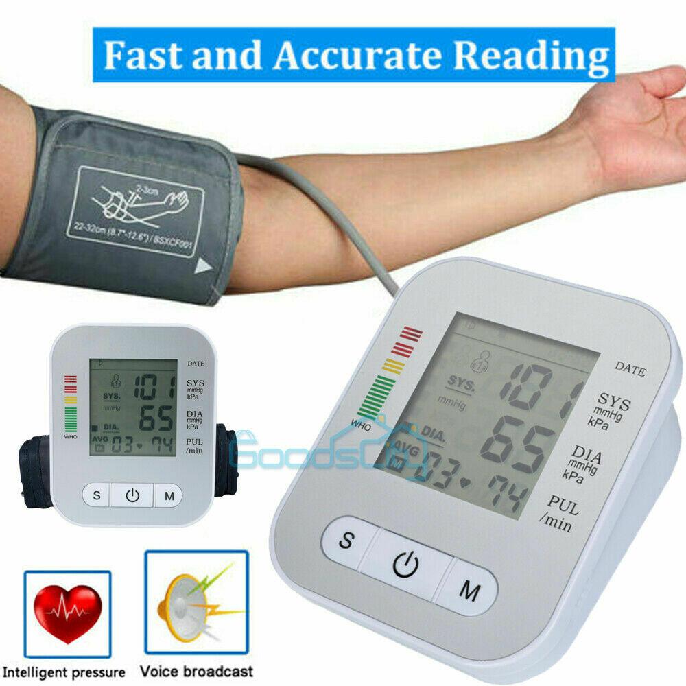 Digital Blood Pressure Monitor Heart Beat Meter