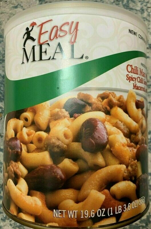 Mountain House Easy Meal Emergency Survival Food Freeze Dried Chili Mac #10 can