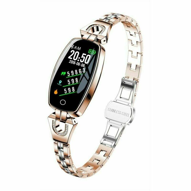 Women Smart Watch, Calories, Fitness, Tracker Blood Pressure Monitor, Lady Bracelet
