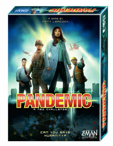 Pandemic A New Challenge 5th Anniversary Cooperative Board Game Z-Man Games