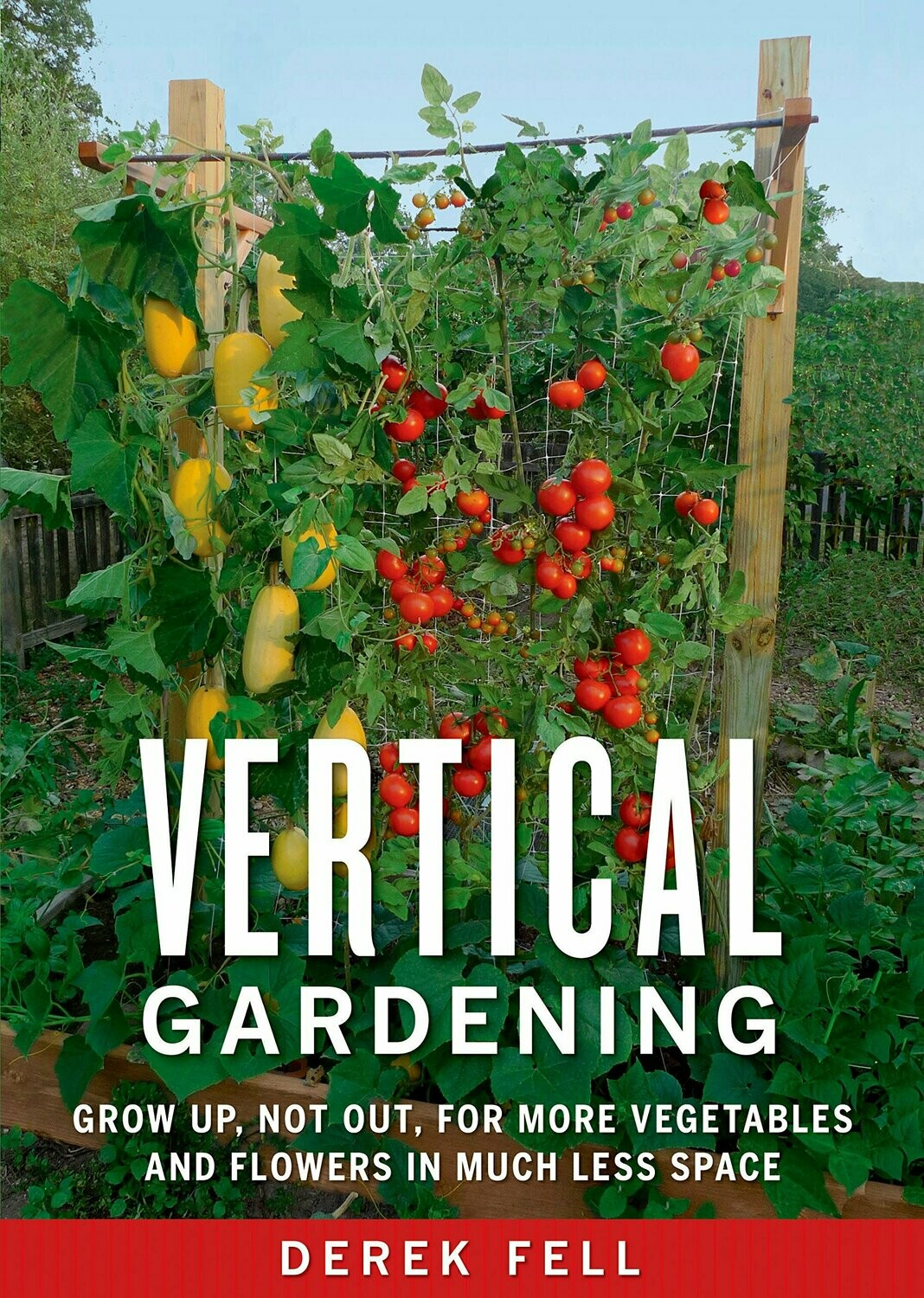 Vertical Gardening: Grow Up, Not Out, for More Vegetables and Flowers in Much Less Space Paperback – April 26, 2011